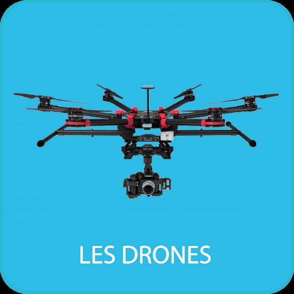 Notre matériel drone