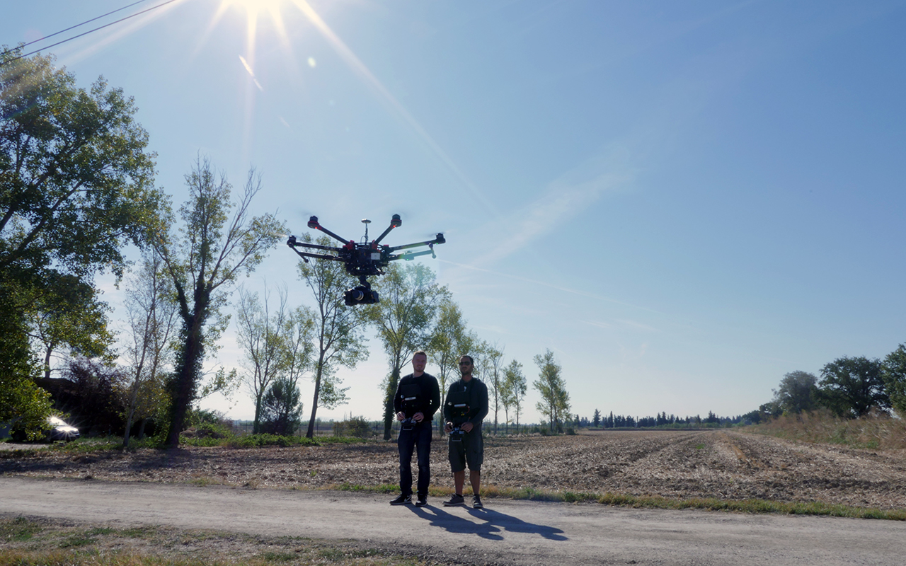 l'équipe Drone Effect