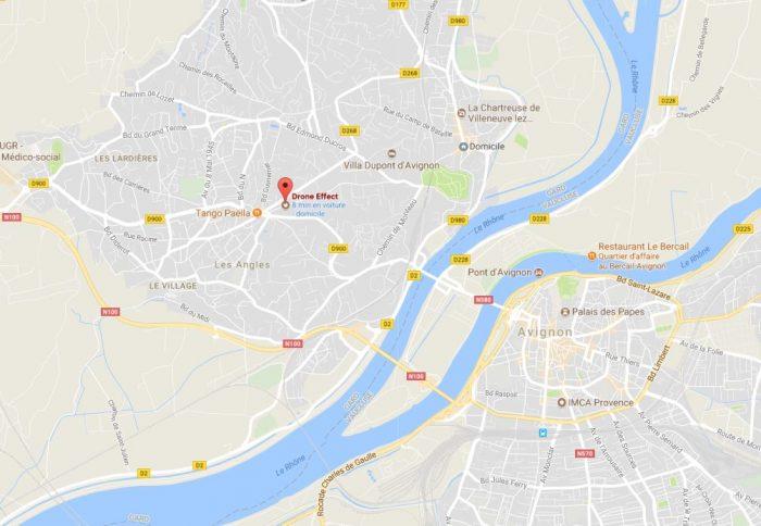 Notre adresse drone sur Villeneuve