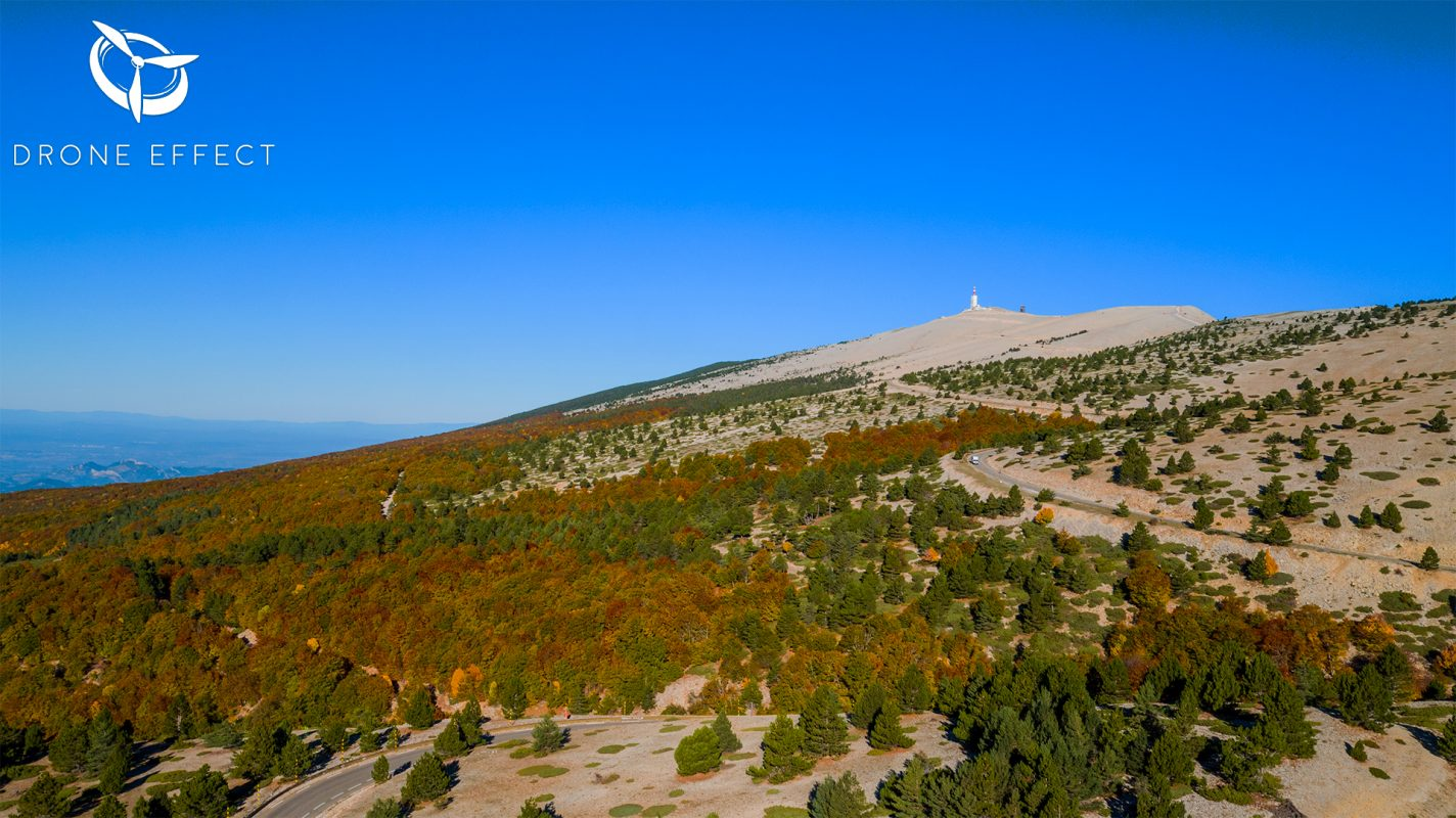 Le Mont Ventoux par drone