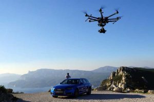 Réalisation de publicité, droit à l'image et législation drone portfolio