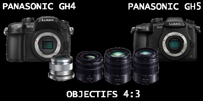Gh4 et Gh5 pour la prise de vue aérienne et au sol.