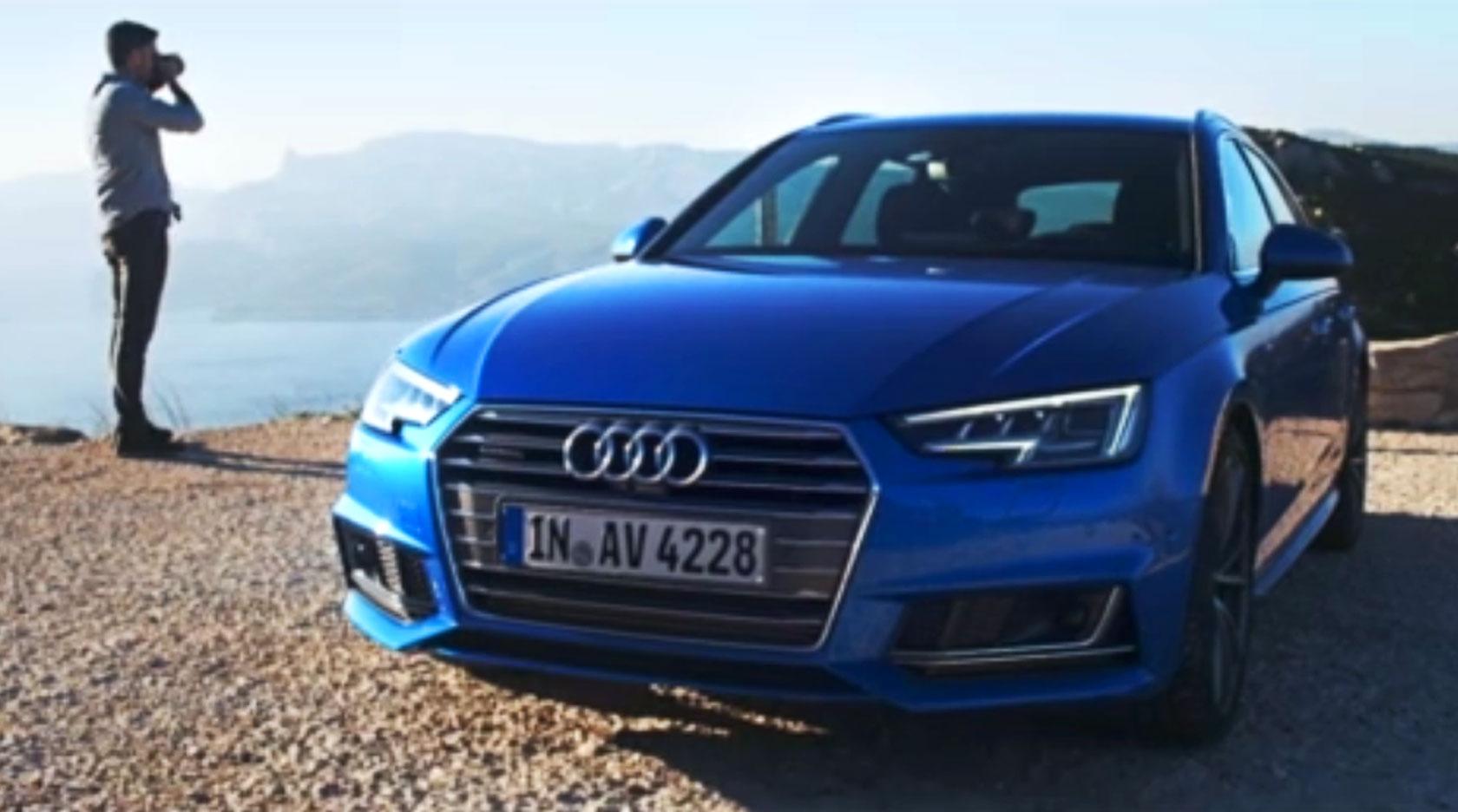 Audi A4 Drone Effect