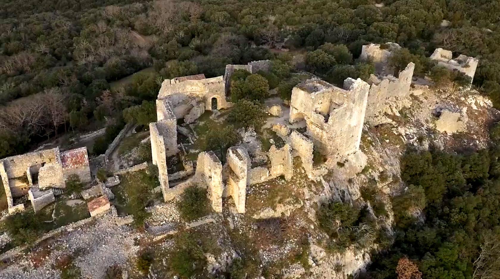Château d'Allègre - Drone Effect