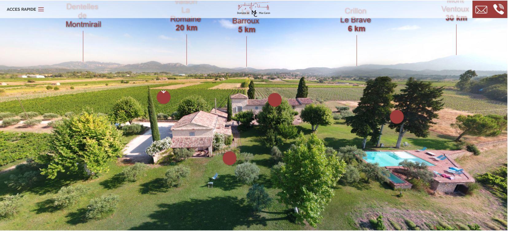 visite virtuelle 360 degrés