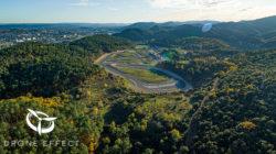 Dans le Gard au pole mécanique par drone