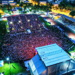 Festival Jardin sonore en drone