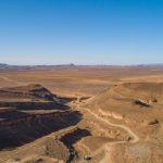 En hauteur par drone au maroc